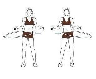 4 упражнения с хулахупом