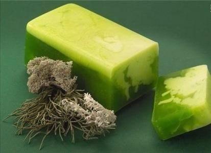 Травяное мыло